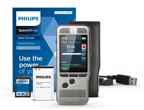 PHILIPS Diktiergerät DPM 7200