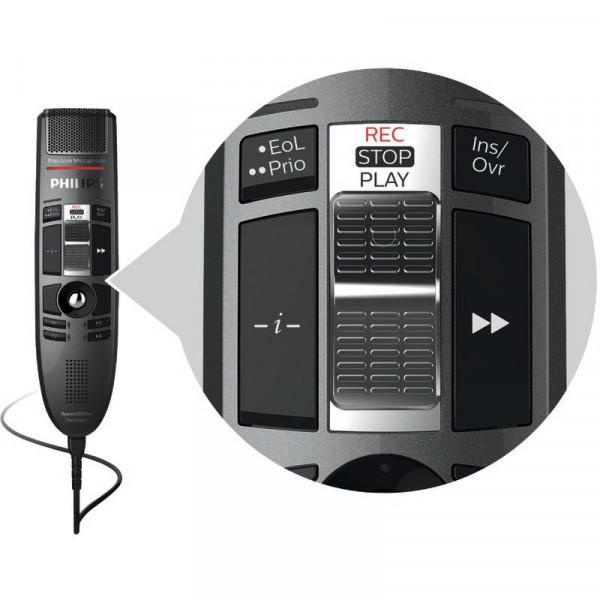 PHILIPS SpeechMike Premium LFH 3510, mit Schiebeschalter