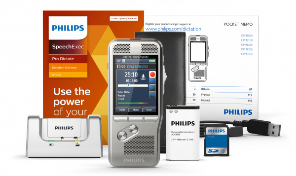 PHILIPS Diktiergerät DPM 8000