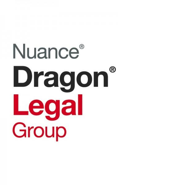 NUANCE® Dragon® Legal Group 15 - flexibles Volumenlizenz-Programm speziell für Kanzleien