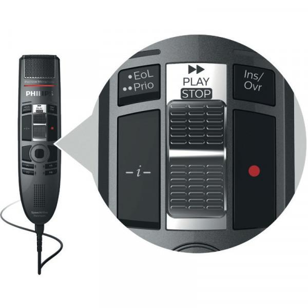 PHILIPS SpeechMike Premium Touch SMP 3720 mit Schiebeschalter