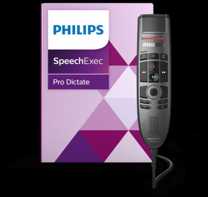 Philips PSE3700 SpeechMike Premium Touch Diktier- und Spracherkennungsset