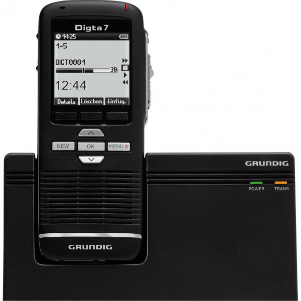 GRUNDIG Redesign - Digta 7 Premium Set mit DigtaSoft Pro - Typ 703