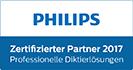 PHILIPS - Zertifizierter Partner 2016 - Professionelle Diktierlösungen