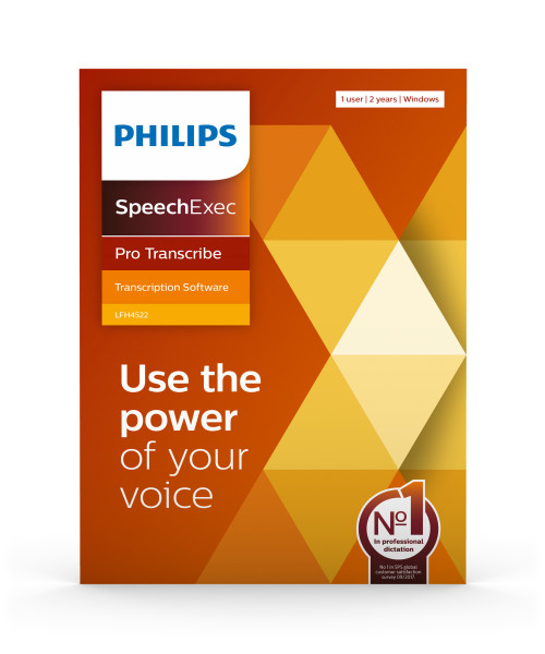 PHILIPS SpeechExec Pro Transcribe LFH 4512 - download Lizenz für 2 Jahre