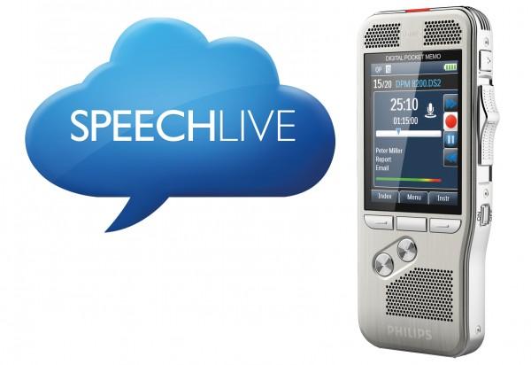Philips SpeechLive Erweitertes Business-Paket Plus