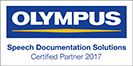 Olympus - Speech Documentation Solutions - Certified Partner 2017