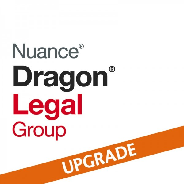 NUANCE® Dragon® Upgrade auf Legal Group 15 von Legal V13 und höher