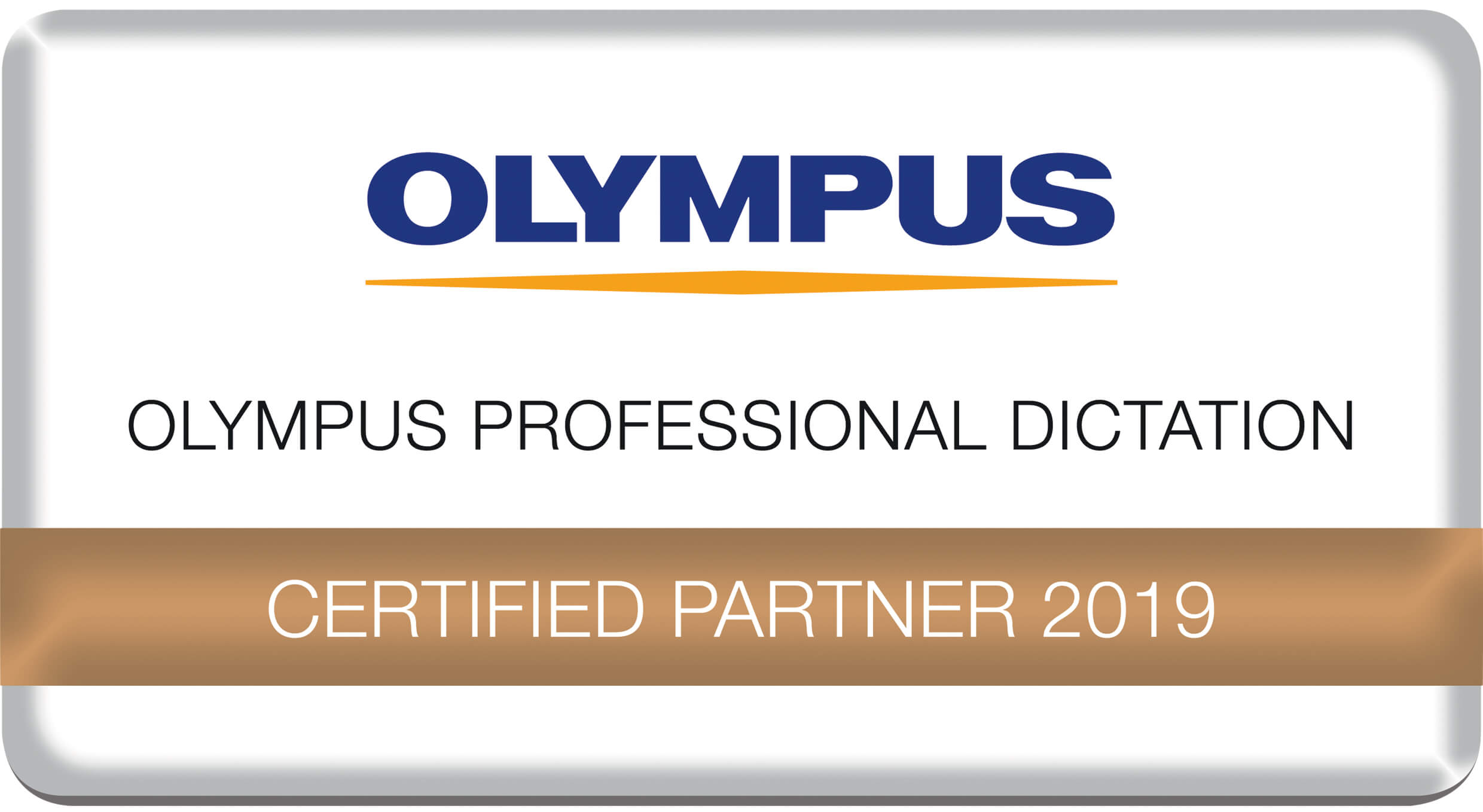 Olympus - Professional Dictation - Certified Partner 2019