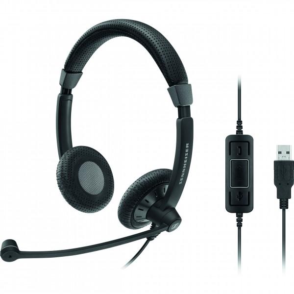 Headset SC 70 USB CTRL BLACK Sennheiser