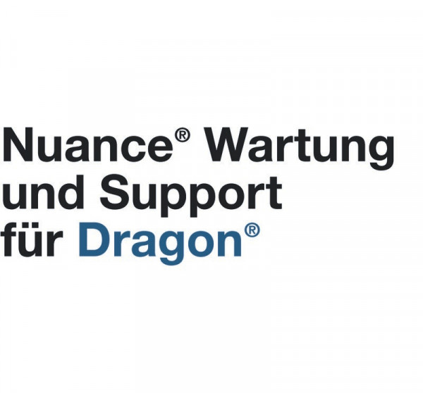 NUANCE® Dragon® Professional Group 15, Maintenance & Support