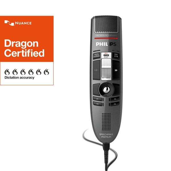 PHILIPS SpeechMike Premium LFH 3610, mit Barcodescanner