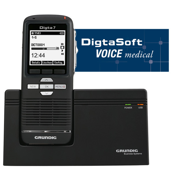 Grundig DigtaSoft Voice medical Mobile Set
