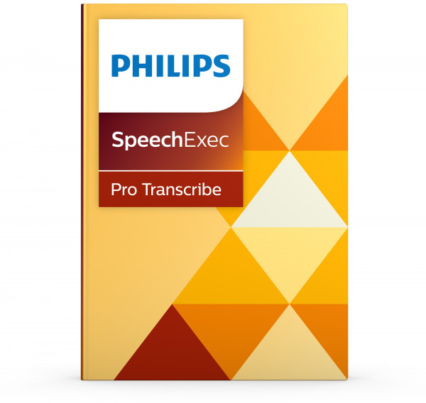 PHILIPS SpeechExec Pro Transcribe LFH 4500/4501, download Lizenz (keine DVD)