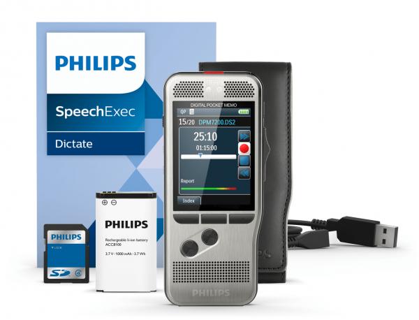PHILIPS Diktier- und Wiedergabegerät DPM 7270 – Standalone