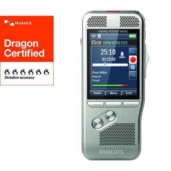 PHILIPS Diktiergerät DPM 8300, Integrationsgerät ohne Software
