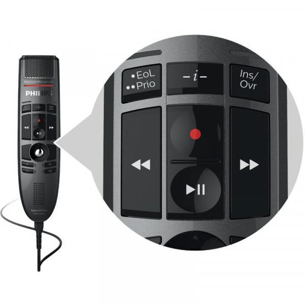 PHILIPS SpeechMike Premium LFH 3500 mit Drucktasten