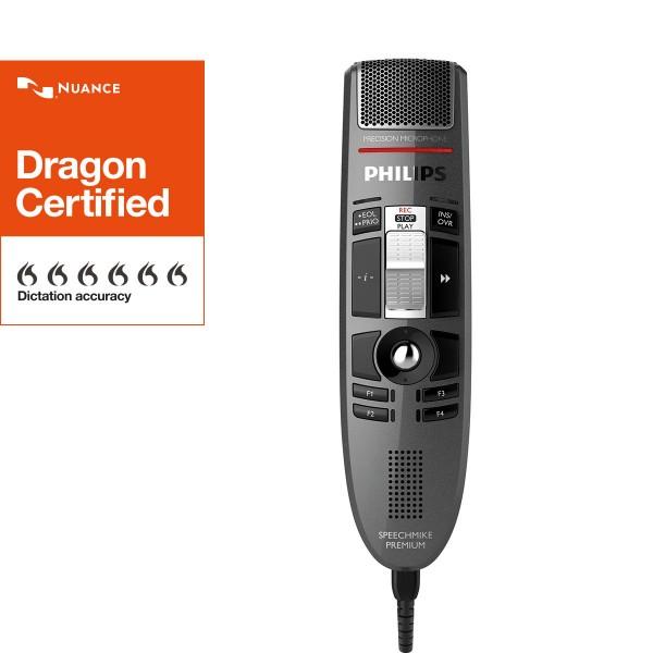 PHILIPS SpeechMike Premium LFH3510, mit Schiebeschalter