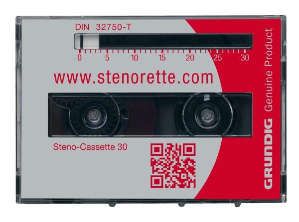 GRUNDIG Steno-Cassetten 30, VE: 5 Stück