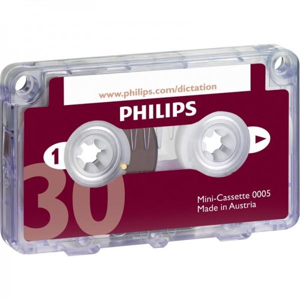 PHILIPS Minikassette, 2 x 15 Min.