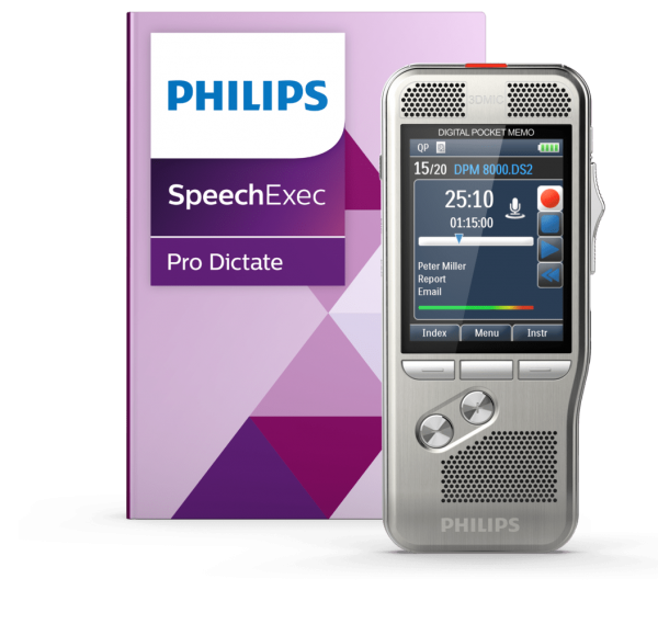 Philips Digital Pocket Memo DPM 8000