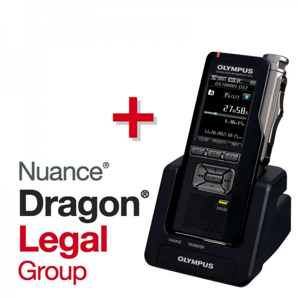 Spar-Set! OLYMPUS Digital Voice Recorder DS-7000 + Dragon® LEGAL Group Spracherkennungssoftware