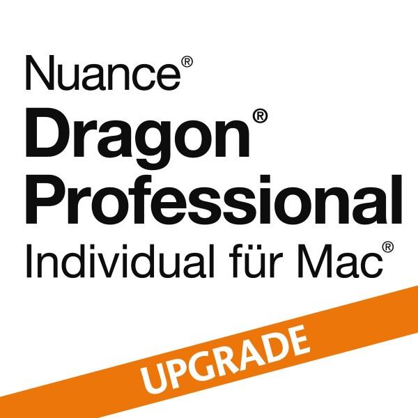 NUANCE® Dragon® Professional Individual für Mac 6.0 - Upgrade von Dragon Dictate für Mac 5 oder Dra