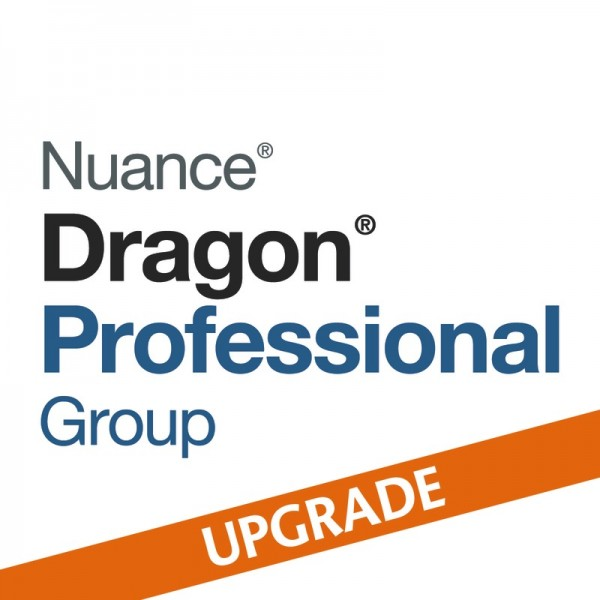 NUANCE® Dragon® Upgrade auf Professional Group 15 von Professional Individual