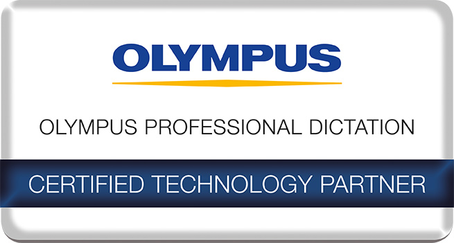 Olympus - Professional Dictation - Certified Technology Partner 2019
