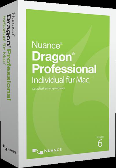 NUANCE® Dragon® Professional Individual für Mac 6.0