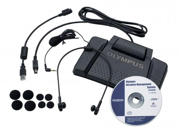 OLYMPUS AS-7000 Transkription Kit für Digital Voice Recorder DS-3500/7000