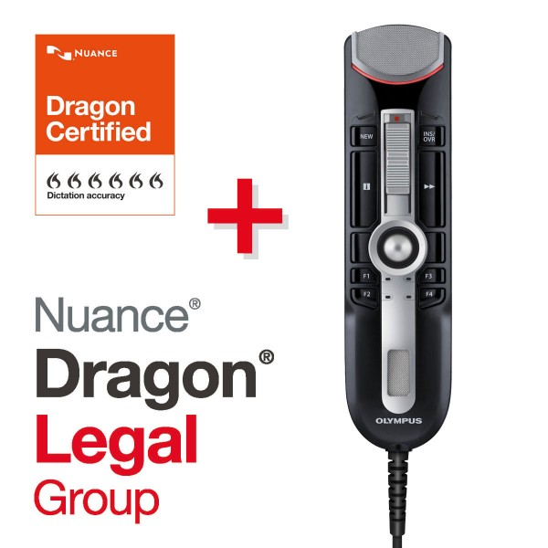 Olympus SET RecMic II RM-4110S + Dragon Legal Group 15