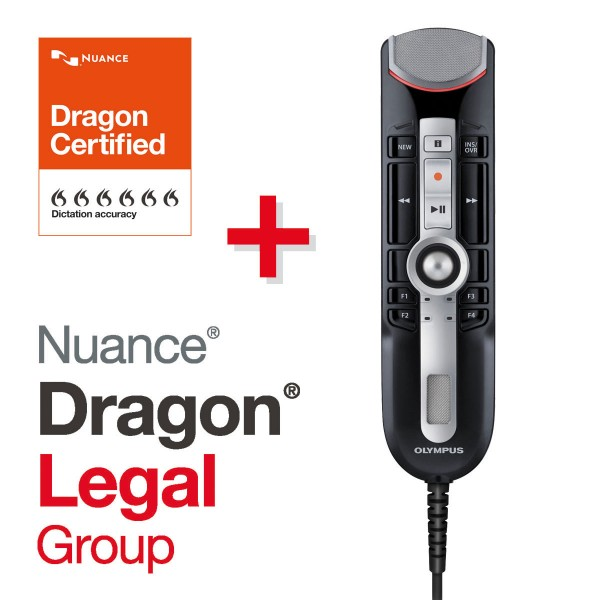 Olympus SET RecMic II RM-4010P + Dragon Legal Group 15