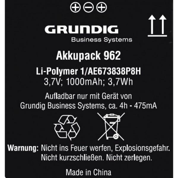 GRUNDIG Akkupack 962