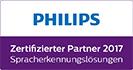 PHILIPS - Zertifizierter Partner 2017 - Spracherkennungslösungen